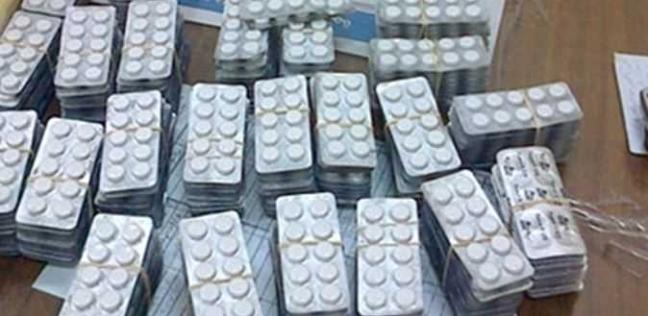 ضبط طرد يحتوي على 2758 قرصا مخدرا عبر مطار برج العرب