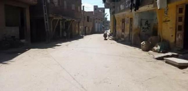 بالصور| حملة نظافة مكبرة بقرية العطوى مركز فارسكور
