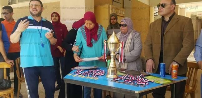 بالصور| تكريم الطلاب المتفوقين في الأنشطة الطلابية بتعليم كفر الشيخ