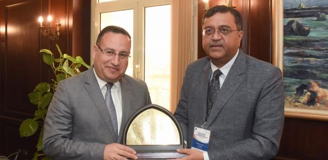 محافظ الإسكندرية يستقبل وفدا هنديا من رجال الأعمال