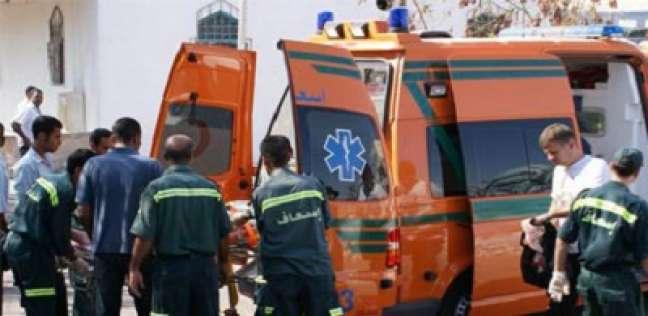 """إصابة ضابط و3 أمناء شرطة إثر انقلاب """"بوكس"""" بسبب الأمطار في المنوفية"""