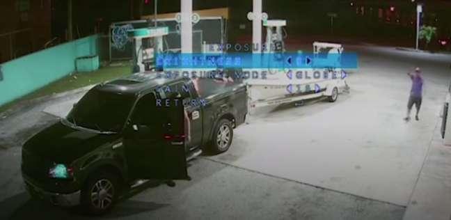 جريمة قتل بشعة داخل محطة بنزين أمريكية