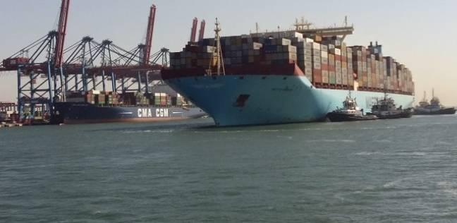 """""""قناة السويس للحاويات"""" تعلن بدء التشغيل التجاري لأحدث السفن العملاقة لنقل الحاويات"""