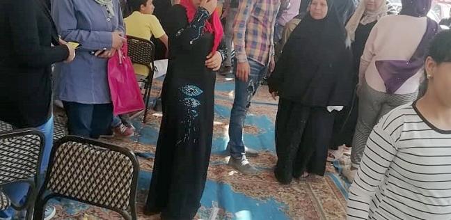 08707a45b إقبال كثيف على لجان شبرا الخيمة.. وشباب يرقصون على أنغام