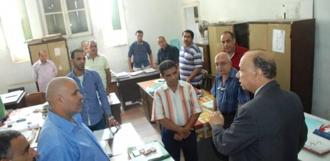 بالصور| محافظ القاهرة يتفقد ديوان المحافظة