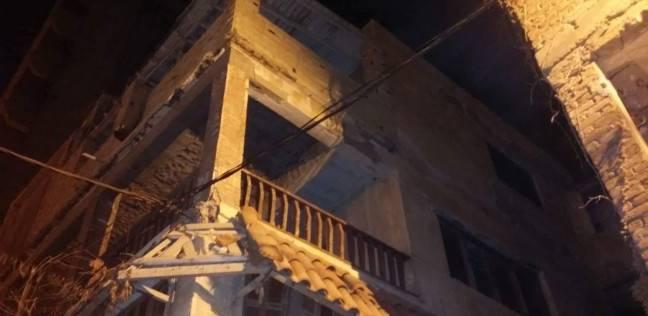 إصابة شخص إثر انهيار جزئي لعقار غرب الإسكندرية