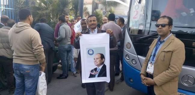 """رئيس """"سموحة الرياضي"""" يخصص أتوبيسات لنقل الأعضاء للجان بالإسكندرية"""