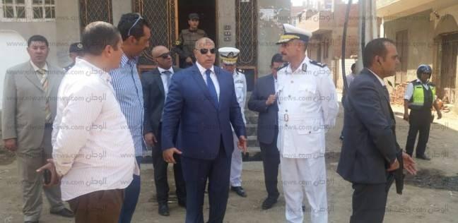 """""""أمن الجيزة"""": ضبط 36 متهما خلال حملات أمنية"""