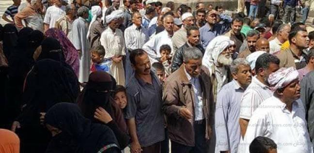 من بئر العبد لـ العريش.. طوابير أمام لجان سيناء: بصوتنا نحارب الإرهاب