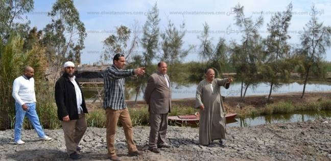 حملة لمتابعة الحدود بين الثروة السمكية وأملاك الدولة بكفرالشيخ