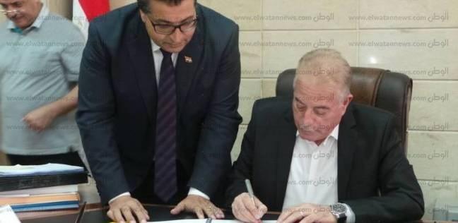 """محافظ جنوب سيناء يعتمد تنسيق القبول للصف الأول الثانوي""""عام- فني"""""""