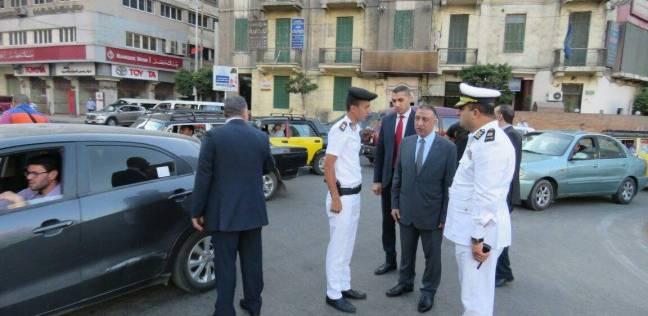 """""""أمن الإسكندرية"""" يفحص 104 أشخاص بالشقق المفروشة والفنادق"""