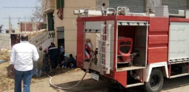 حريق يلتهم محتويات شقة سكنية في أكتوبر