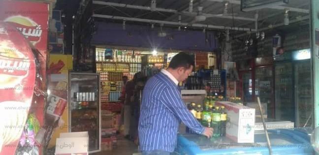 بالصور  ضبط سلع غذائية منتهية الصلاحية بماركت شهير في الإسماعيلية