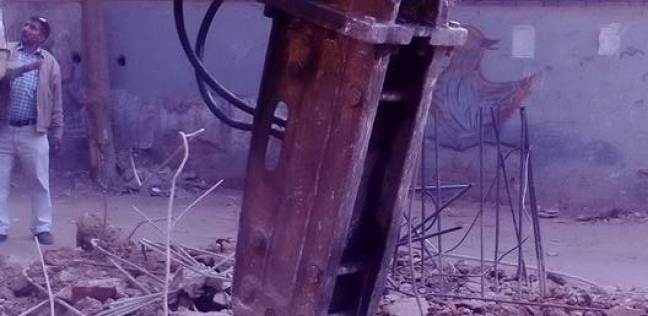 محافظ الإسكندرية يشكر أجهزة الأمن لتعاونها في إزالة المخالفات