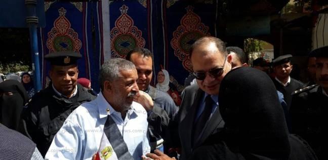 استنفار أمني أمام اللجان الانتخابية بمحافظة الجيزة