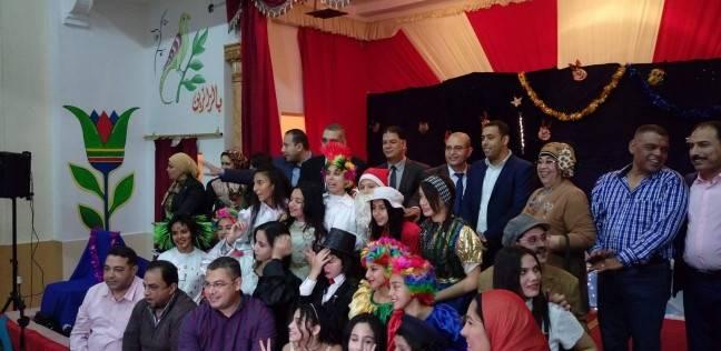 حفل ختام الأنشطة التربوية بمدرسة القناة الإعدادية بنات ببورسعيد