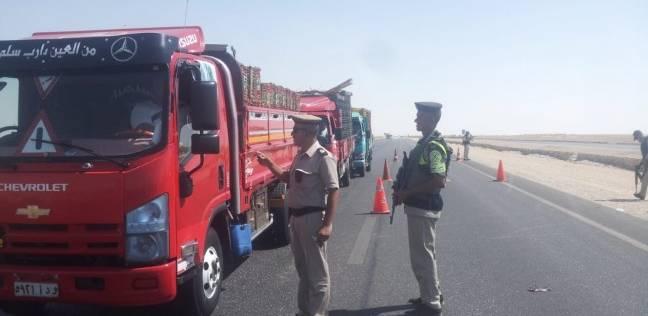 مدير أمن المنيا يوجه بتكثيف الحملات المرورية لخفض معدل الحوادث