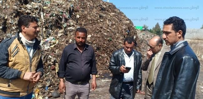 رفع 128 طن مخلفات قمامة بمدينةنقادة في قنا