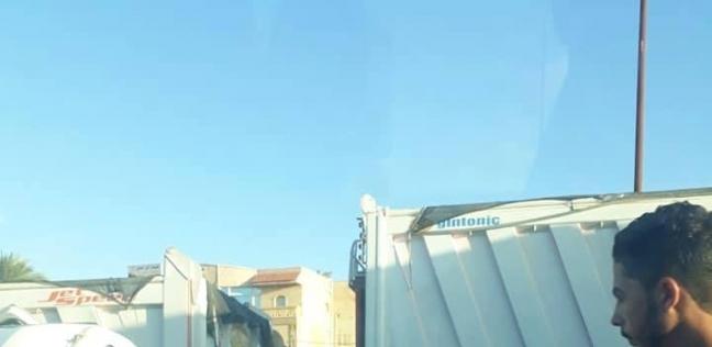 إصابة 10 أشخاص في تصادم 10 سيارات على طريق الإسكندرية الصحراوي