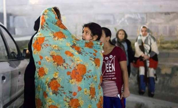 35 صورة من «زلزال إيران» المدمِّر