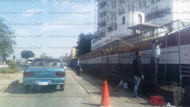 دعوى قضائية ضد وزير الداخلية ومحافظ أسوان بسبب حائط الكورنيش الخرساني