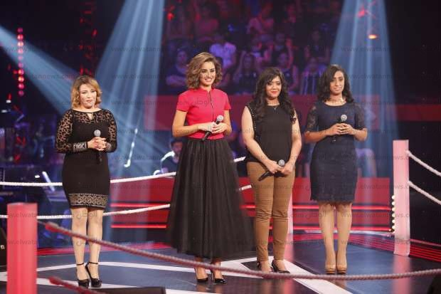 """بالصور  تأهل 3 أصوات مصرية في الحلقة الثانية من """"مواجهة"""" The Voice"""