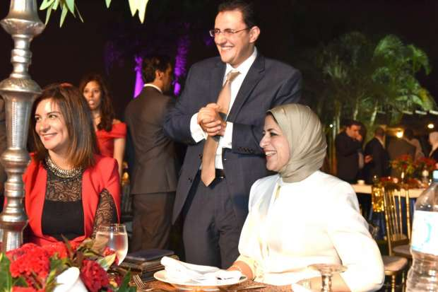 بالصور| حمادة هلال يحيي حفل خطوبة خالد مجاهد وابنة حسام الشريف