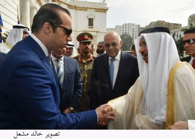 رئيس الوزراء الكويتي: العلاقات الأخوية المتميزة تجمع بين مصر والكويت
