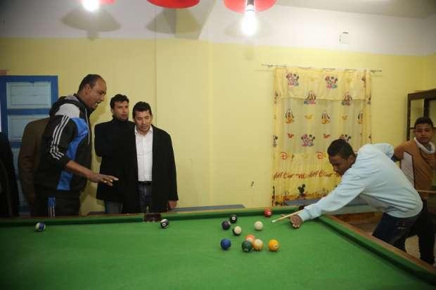 وزير الشباب يشهد تصفيات كرة القدم بمهرجان الرياضة للجميع بأسوان