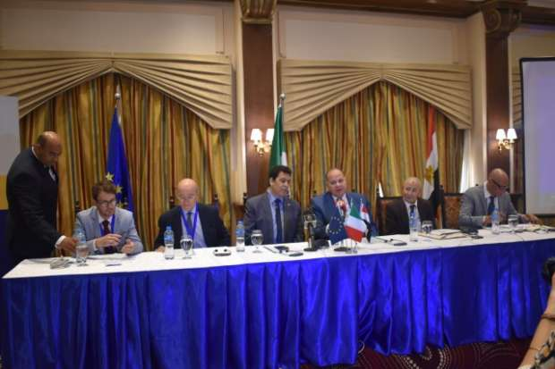 محافظ الفيوم يطالب بزيادة تعاون الاتحاد الأوروبي بمجالي الري والزراعة