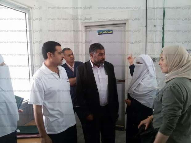 صور| مدير الرعاية بالشرقية يتفقد مستشفى ههيا المركزي