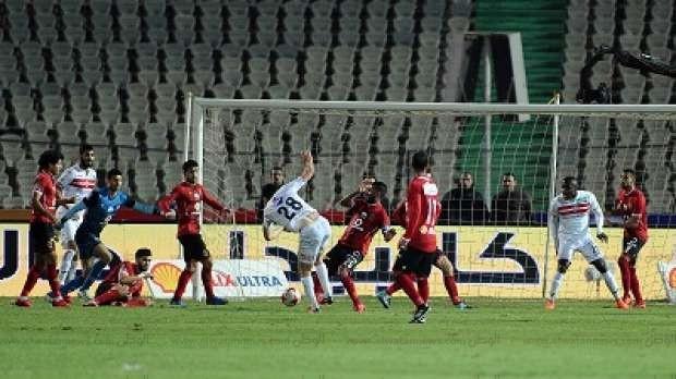 ملخص مباراة القمة بين الأهلي والزمالك في 73 صورة