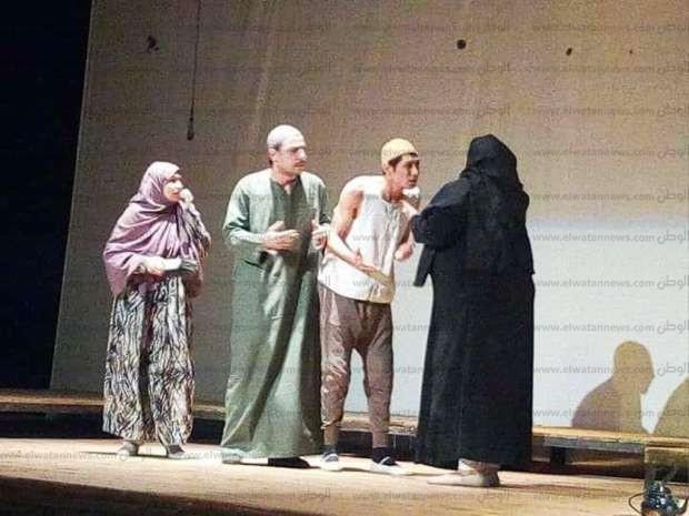 """العرض المسرحي """"ولاد البلد"""" في """"ثقافة أسوان"""""""