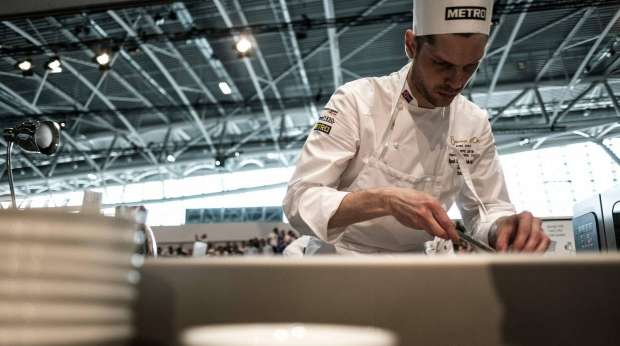 """منافسات """"حارة"""" في مسابقة """"Bocuse d'Or Europe"""" للطهي"""