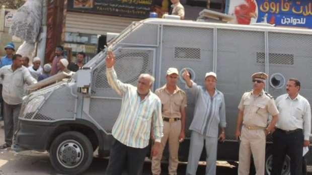 """حملة لإزالة المخالفات والتعديات على أملاك الدولة بـ""""الحامول"""" بكفر الشيخ"""