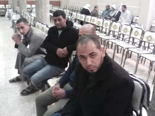 تشييع جثامين مصريين لقيا مصرعهما في حريق بمصنع السيراميك بالسودان