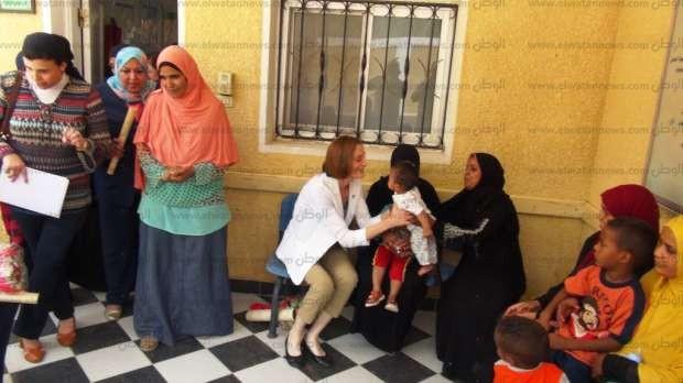 بالصور| مسؤولو الوكالة الأمريكية للتنمية يتفقدون الوحدة الصحية بالجعافرة