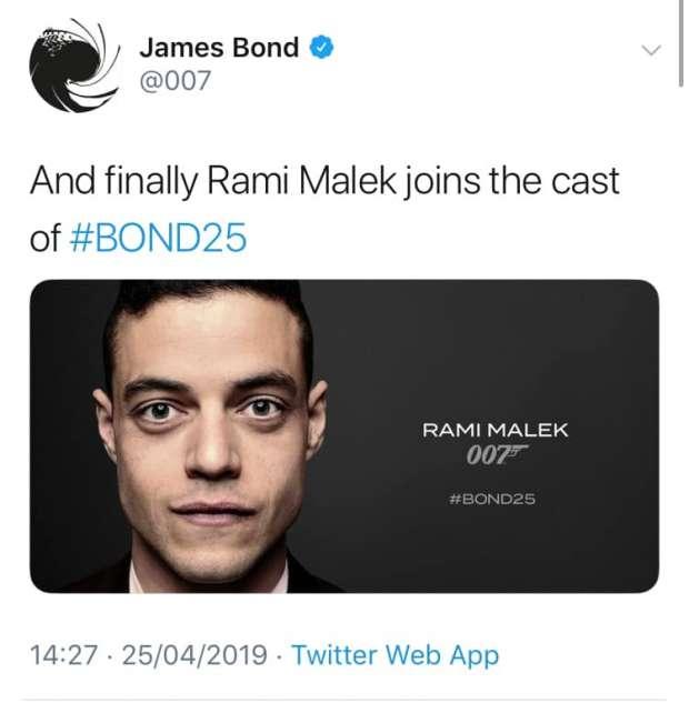 رسميا.. رامي مالك