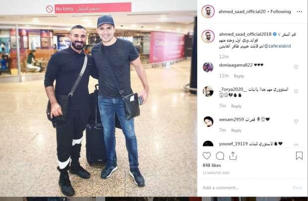 أحمد سعد في السفر 7 فوائد منها ظافر العابدين فن وثقافة