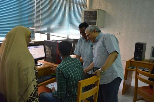 جامعة الفيوم تخصص 5 معامل للتنسيق الإلكتروني لطلاب الثانوية العامة