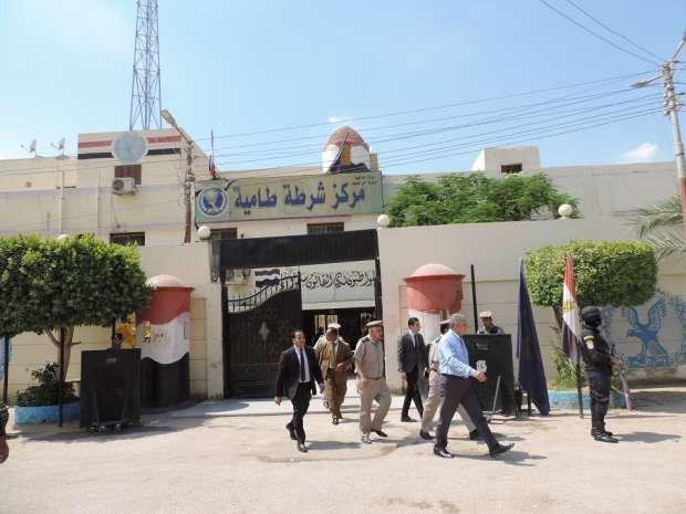 بالصور  مدير أمن الفيوم يوجه قوات الشرطة باليقظة والاستعداد