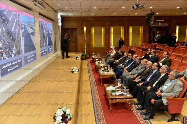 مهاب مميش: قناة السويس الجديدة حققت مليار دولار زيادة بعد حفرها