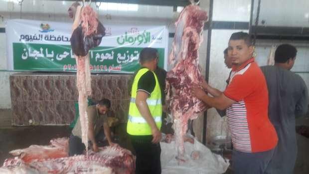 """""""بيطري الفيوم"""": ذبح 254 أضحية في مجازر المحافظة خلال 3 أيام"""