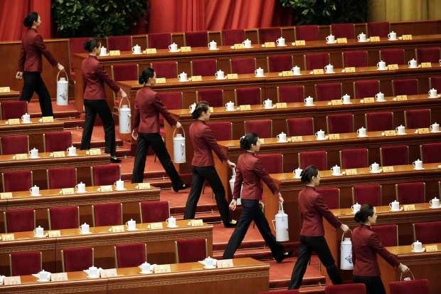 بالصور| جولة في قاعة الشعب الكبرى التي تحتضن لقاء السيسي بنظيره الصيني