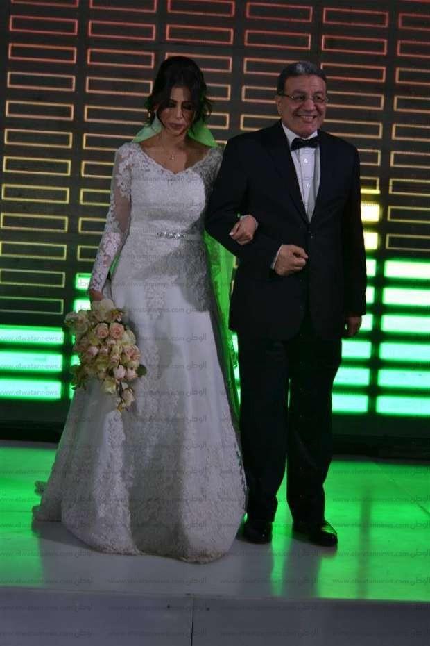بالصور| نجوم الفن في حفل زفاف شقيق محمد نور