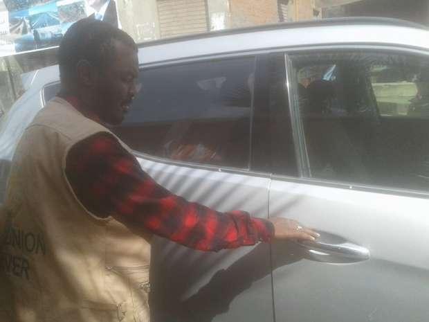 بالصور| وفد إفريقي يتفقد سير الانتخابات بلجان سنورس في الفيوم