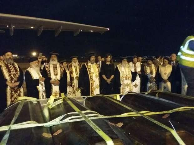 """الكنيسة القبطية: صلاة الجنازة على """"شهداء ليبيا"""" غدا في المنيا"""