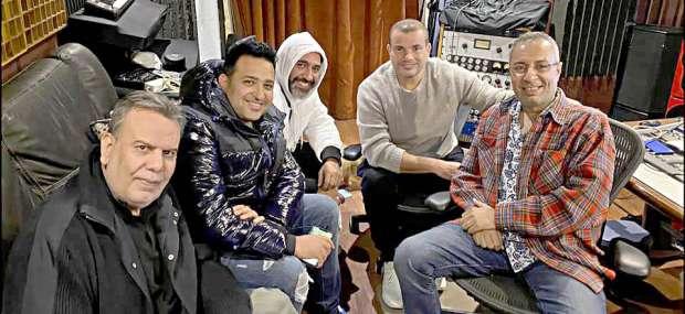 نتيجة بحث الصور عن عمرو دياب واحمد زغلول