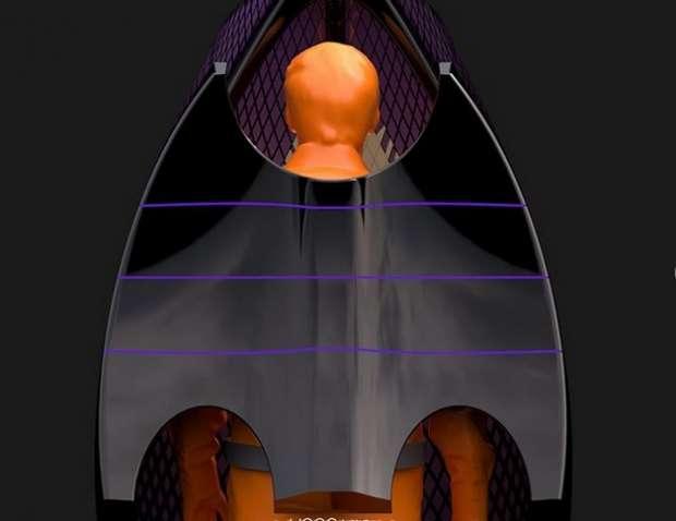 """""""زي باتمان"""".. مهندس صيني يبتكر رداء للوقاية من كورونا"""